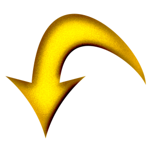 gold arrow pointing down